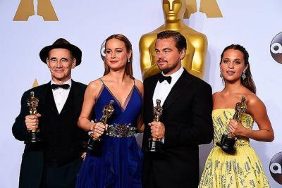 Emotivo discurso de Leonardo DiCaprio al recibir el Oscar