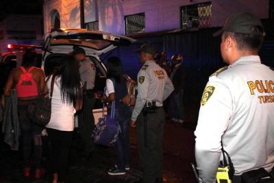 Hallan cinco venezolanas ejerciendo prostitución en Piedecuesta