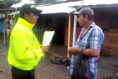 Policía capturó a nueve falsos reclamantes de tierras