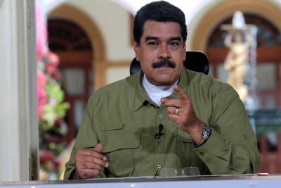"""""""Me lanzo a alcalde de Cúcuta y gano con el 100% de los votos"""": Maduro"""
