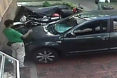 Graban a delincuente cuando hurta una moto en Bucaramanga