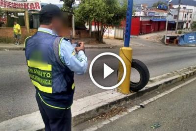 Agente de Tránsito de Bucaramanga es investigado por soborno