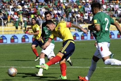 Reviva todos los goles de Colombia contra Bolivia en los últimos 10 años
