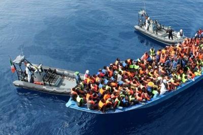 Fuego en el mar, el documental de los inmigrantes que intentan cruzar el Mediterráneo