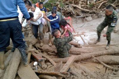 Confirman 206 muertos, 202 heridos y 220 desaparecidos por avalancha en Mocoa