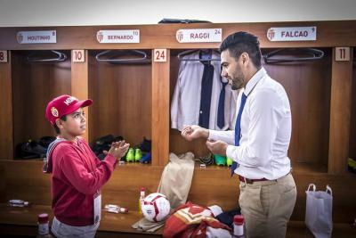 Falcao García cumplió el sueño de niño colombiano adoptado en Francia
