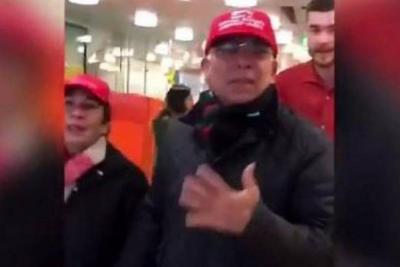 Una mujer insultó al embajador de Venezuela en Suiza