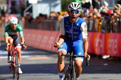 Etapa de este jueves en el Giro de Italia favorece a Fernando Gaviria