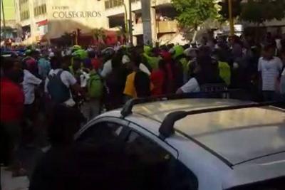 Policía detuvo en Bucaramanga a bailarín por invadir el espacio público