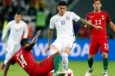 Chile venció a Portugal en penales y avanzó a la final de la Confederaciones