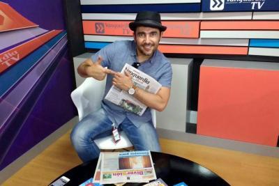 Así fue la entrevista con santandereano Fabián Mendoza
