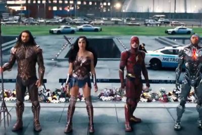 Liga de la justicia estrenó trailer a cuatro meses de su lanzamiento