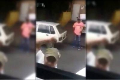 Video registró agresión a bus de Metrolínea en Bucaramanga