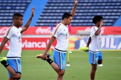 Jugadores de Colombia dicen que ante Brasil hay que sumar