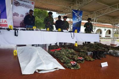 Combates entre Ejército y el Eln dejan un guerrillero muerto en Cauca
