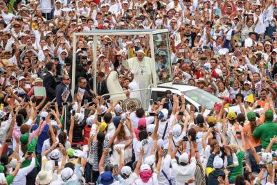 """""""Todo esfuerzo de paz sin reconciliación será un fracaso"""": Francisco"""