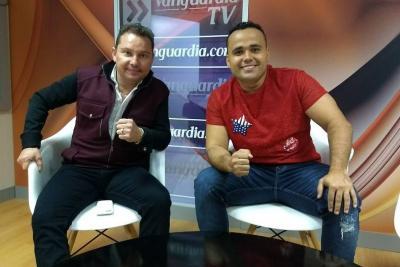 Giovany Ayala y Ciro Quiñónez presentaron 'Regalada sales cara' en Bucaramanga