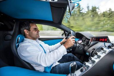 De cero a 400 km/h en 41 segundos, el récord de Montoya