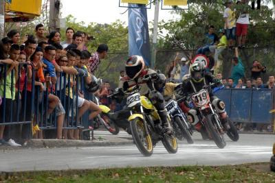 La adrenalina y la velocidad volvieron a las calles de Bucaramanga