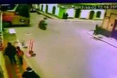 Video registró fatal accidente de tránsito en Pamplona, Norte de Santander