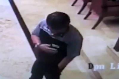 Video captó el momento en el que explotó un celular y dejó herido a un hombre