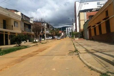 Comunidad de Bucaramanga se queja por obras de empresa de servicios públicos