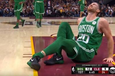 La dolorosa lesión de un jugador de la NBA en su debut