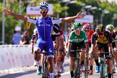 Fernando Gaviria ganó la primera etapa del Tour de Guanqxi en China