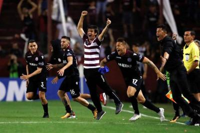 Vea la histórica remontada de Lanús ante River Plate en la semifinal de la Libertadores