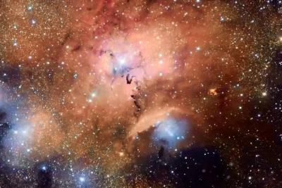Cámara registró fenómenos astronómicos de guardería estelar Sharpless 29