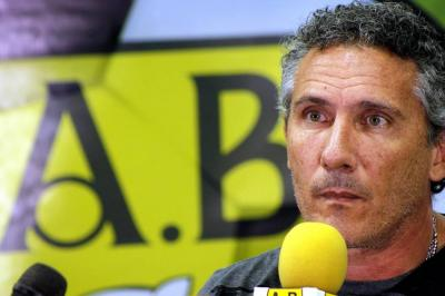 """No vine a pelear el descenso, vine a pelear cosas grandes"": Diego Cagna"