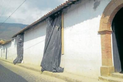 Polémica por obras en la capilla de Las Nieves de Girón