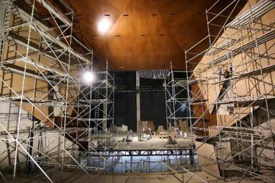 Al Teatro Santander le falta un 10% para reabrir sus puertas