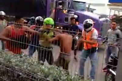 Comunidad intentó linchar a presunto fletero en Cartagena