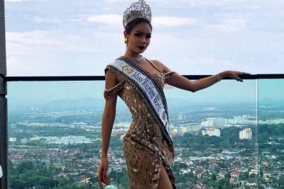 Santandereana Andrea Gutiérrez fue coronada como Reina Mundial de Turismo