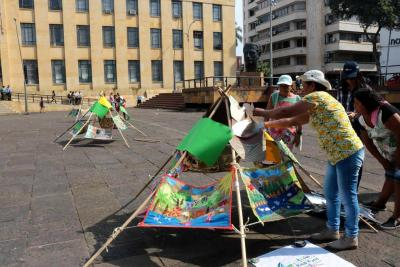 Mujeres de Santander denuncian afectaciones por hidroeléctrica