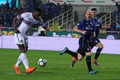 Colombiano Duván Zapata anotó en el triunfo del Sampdoria ante Atalanta