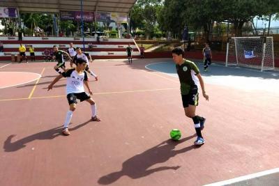 Así se vive el primer fin de semana del Torneo Interbarrios de Futsal en Bucaramanga