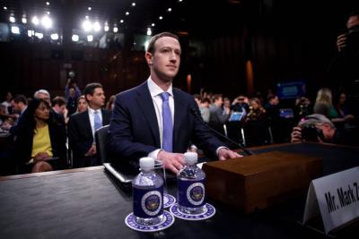 Zuckerberg se declara culpable ante el Congreso de Estados Unidos por escándalo de Facebook