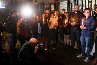 Diario 'El Comercio' rinde homenaje a equipo periodístico asesinado