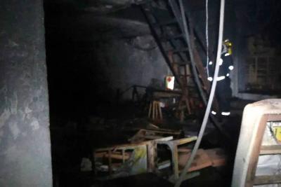 Incendio afectó a una bodega de muebles en Bucaramanga