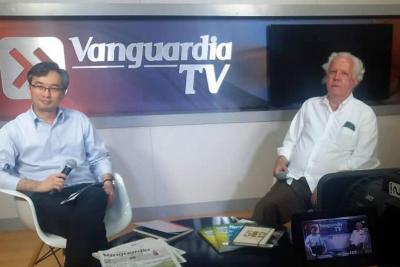 Esta fue la entrevista con Alberto Donadio en Vanguardia.com