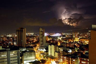 Video registró tormenta eléctrica en Bucaramanga