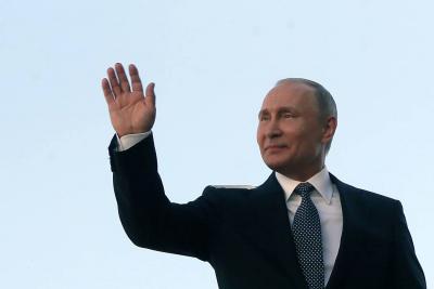 Vladímir Putin tomó posesión como presidente de Rusia por cuarta ocasión