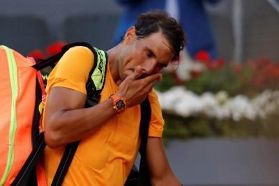 Rafael Nadal fue eliminado en cuartos de final del Masters 1.000 de Madrid