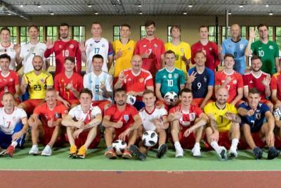 La Selección de Rusia se vistió del Mundial
