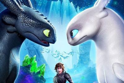 """Revelan romántico tráiler de """"Cómo entrenar a tu dragón 3"""""""