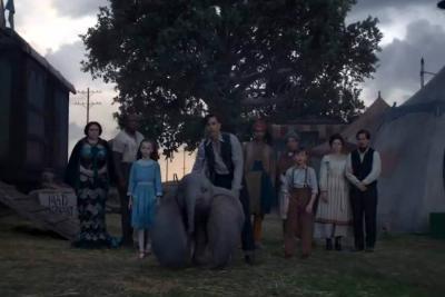 'Dumbo' el elefante, regresa a la pantalla grande de la mano de Tim Burton