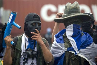 """""""Cacerolazo"""" contra el Gobierno de Ortega durante jornada de paro en Nicaragua"""