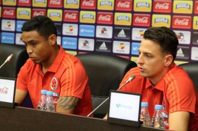 """""""Colombia no tiene que menospreciar a ningún rival"""" Luis Fernando Muriel"""